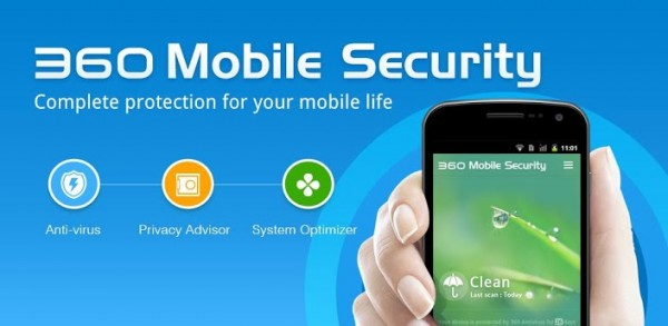 برنامج مكافحة فيروسات للأندرويد 360 Mobile Security برنامج مكافحة فيروسات للأندرويد 360 Mobile Security