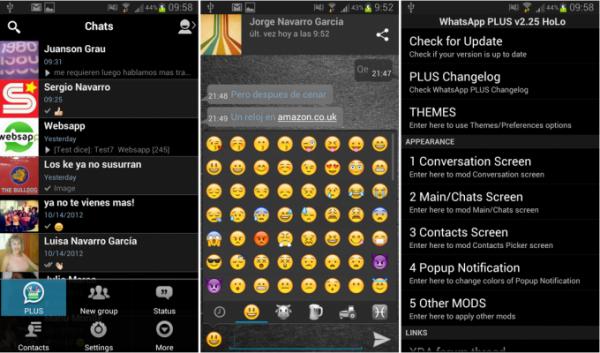 تحميل برنامج الواتس الأزرق بلس 2015 + whatsapp تحميل برنامج الواتس الأزرق بلس 2015 + whatsapp