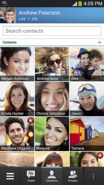قم بالدردشة مع كل اصدقائك تحميل البيبي ماسنجر للأندرويد BBM messenger download