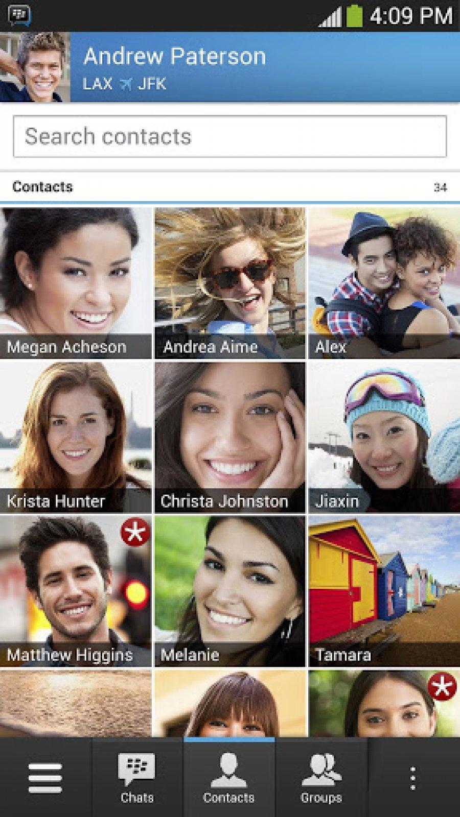 تحميل البيبي ماسنجر للأندرويد BBM messenger download