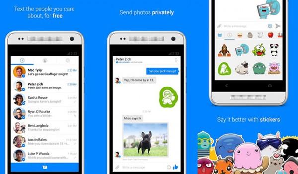 استيكرات و جوه تعبيرية متنوعة تنزيل أحدث نسخة من فيس بوك ماسنجر 2015 Facebook messenger