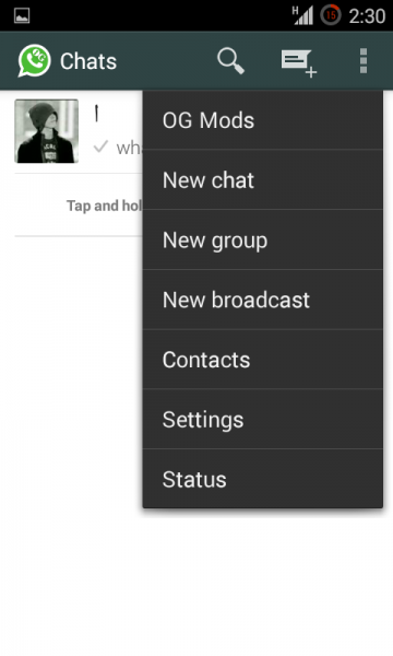 أوجي واتس أب رقمين في نفس الهاتف OGWhatsApp أوجي واتس أب رقمين في نفس الهاتف OGWhatsApp