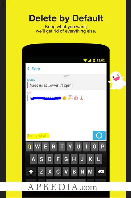 تحميل snap chat