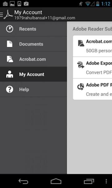تحكم سهل ومباشر بكامل الملفات تحميل برنامج ادوبي ريدر Adobe PDF Reader للاندرويد