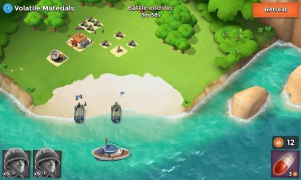 تغيير القواعد الهجومية و الدفاعية تحميل لعبة بوم بيتش الإستراتيجية Boom Beach للأندرويد