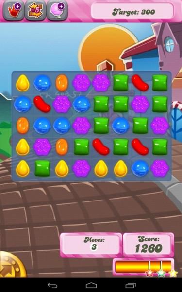 قم بإختيار المتشابهات تحميل لعبة كاندي كراش Candy Crush للأندرويد