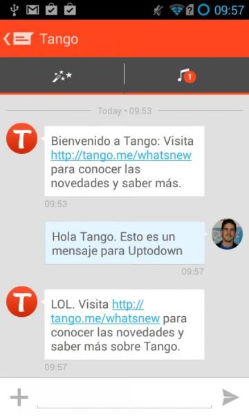 تحميل برنامج Tango Messenger الشهير للأندرويد تحميل برنامج Tango Messenger الشهير للأندرويد