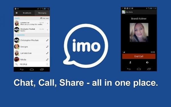 تحميل برنامج ايمو imo download للأندرويد