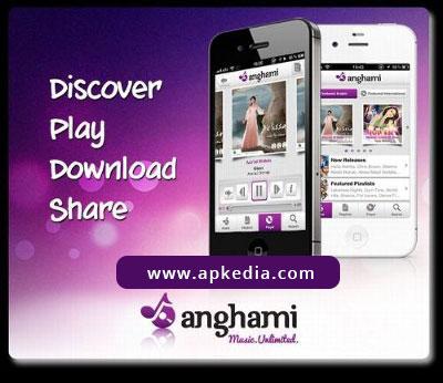 تنزيل تطبيق أنغامي Anghami من MBC تنزيل تطبيق أنغامي Anghami من MBC