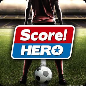 تحميل لعبة كرة القدم الرائعة SCORE! HERO للأندرويد
