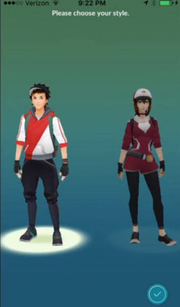 طريقة أختيار اللاعبين شرح وتحميل لعبة بوكيمون جو Pokémon GO للأندرويد