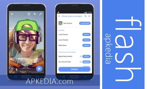 تنزيل برنامج فيسبوك فلاش Flash Facebook للأندرويد مجاناً